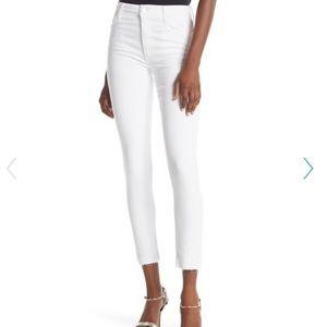 "Joe's Jeans White Flawless Skinny Crop sz 27"" NWT"